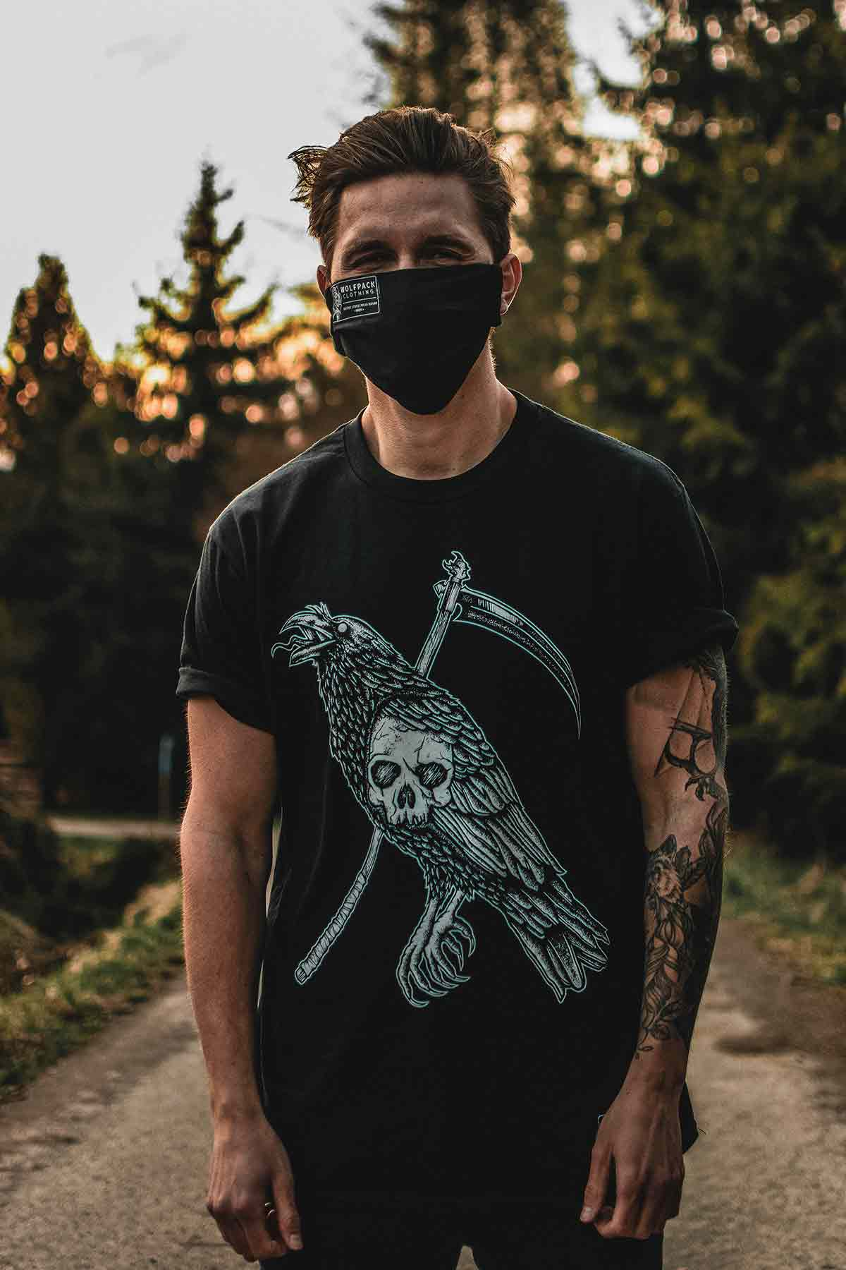 DEADLY CROW TEE UNISEX